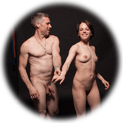 nude couple photo shoot