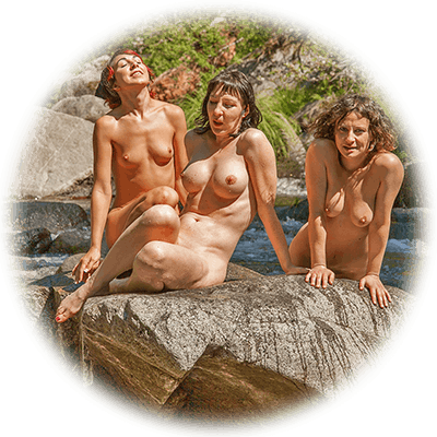 Back to Eden nudist day