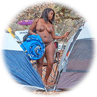 camping naked is best!