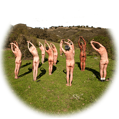 Naked Yoga at Sequoians nudists