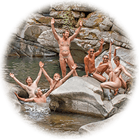 Nude at the Yuba River